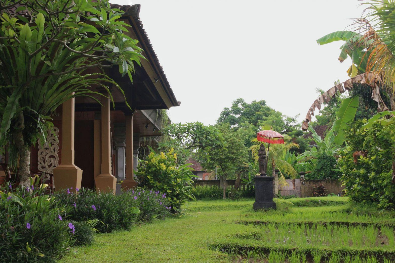 VIEW FROM SUPERIOR GARDEN saren indah ubud hotel – Saren Indah
